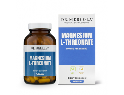 Mercola Magnesium L-Threonate 90 hylki