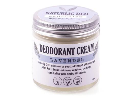 Nordic Eco lífrænn svitalyktareyðir 60 ml. #lavender