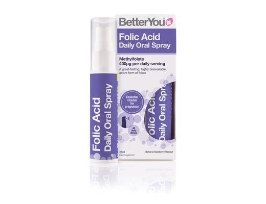 Better You Folic Acid munnúði 25 ml. #48 dagskammtar