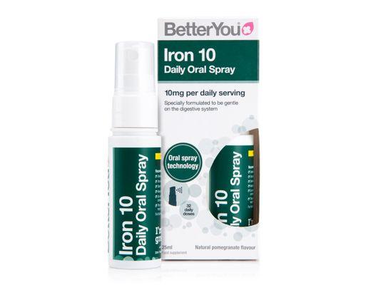 Better You Iron 10 munnúði 25 ml. #32 dagskammtar