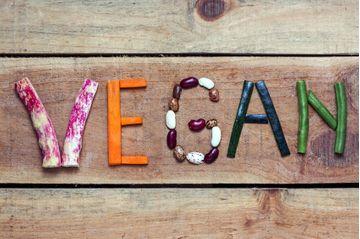 Vegan matvörur