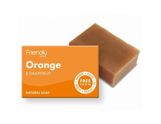 Friendly Appelsínu- og greipaldin sápa 95 gr.