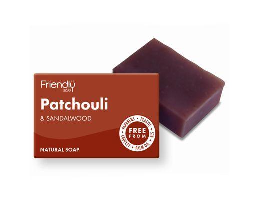 Friendly Patchouli- og sandalviðar sápa 985 gr.