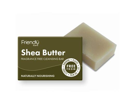 Friendly Shea butter andlitssápa 95 gr.