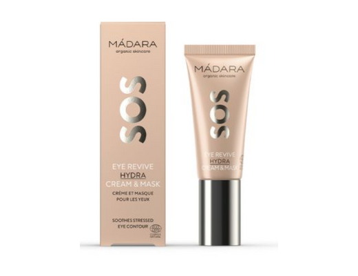 Mádara SOS Eye Revive Hydra Cream & Mask 20 ml.