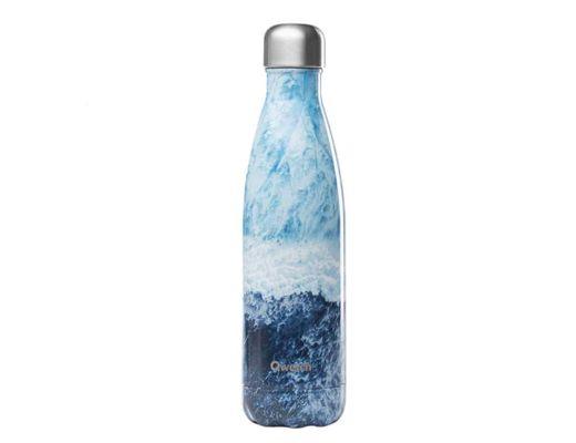 Qwetch drykkjarflaska heitt/kalt 500 ml. #Ocean lover