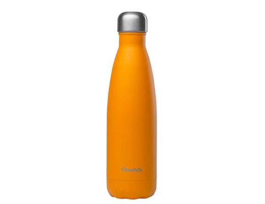 Qwetch drykkjarflaska heitt/kalt 500 ml.  #Pop orange, hömruð