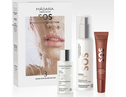 Mádara SOS HYDRA Star Collection gjafasett