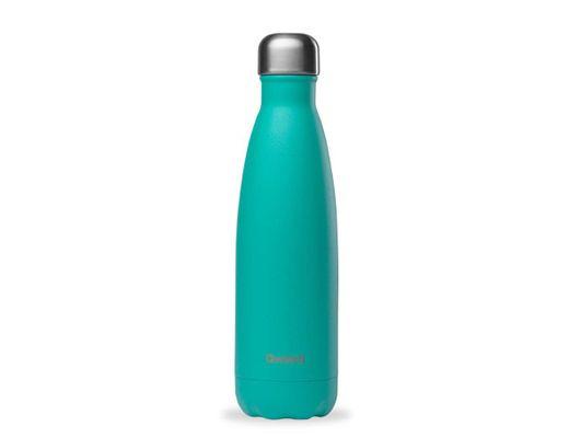 Qwetch drykkjarflaska heitt/kalt 500 ml. #Pop Blue lagoon, hömruð