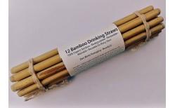 Bamboo sogrör 12 stk.