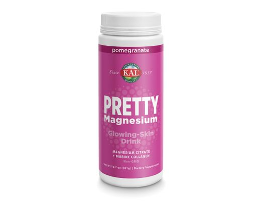KAL PRETTY Magnesíum Citrate + Marine Collagen 300 gr. #granateplabragð