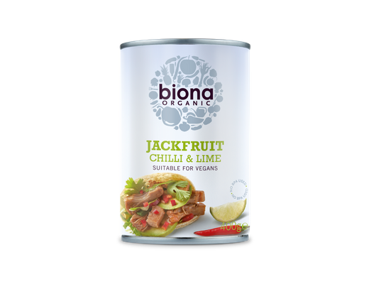 Biona Jackfruit Chilli & Lime 400 rg.