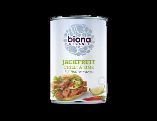 Biona Jackfruit Chilli & Lime 400 rg.
