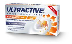 Ultractive Magnesium 630mg, 30 töflur