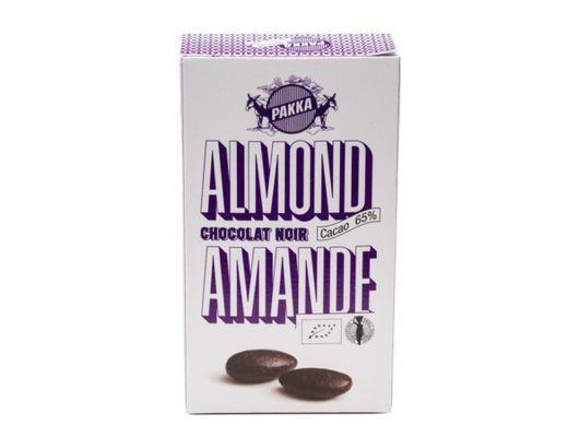 Pakkamöndlur Chocolat Noir 50 gr.