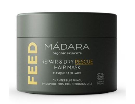 Mádara Repair & Dry Rescue Hair mask 180 ml.