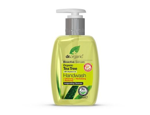 Dr. Organic Tea Tree Handwash 250 ml.