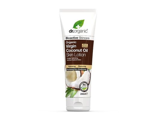 Dr. Organic Coconut Oil Skin Lotion 200 ml.