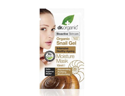 Dr. Organic Snail Gel Moisture mask 10 ml.