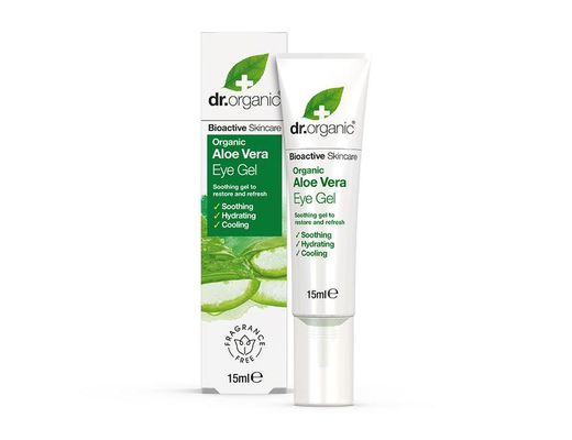 Dr. Organic Aloe Vera Eye Gel 15 ml.