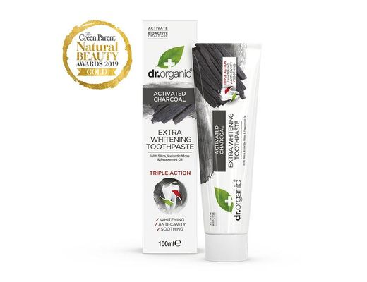 Dr. Organic Charcoal Toothpaste 100 ml.