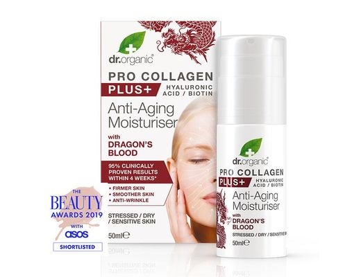 Dr. organic PRO COLLAGEN PLUS+ Anti-Aging Dragon's Blood 50 ml.