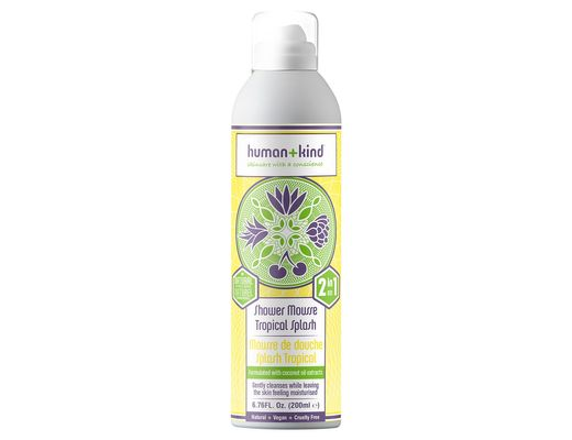 Human+kind Shower Mousse Tropical Splash 200 ml.