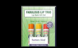 Human+kind Lip Balm Trio gjafakassi