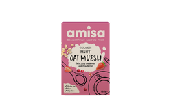 Amia múslí með cranberry & strawberry 325 gr.
