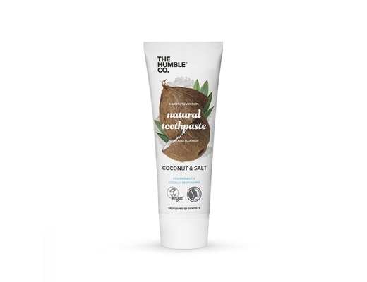 Humbla Brush tannkrem 75 ml. #Coconut