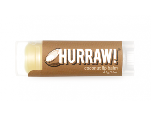 Hurraw lip balm Coconut 4.3 gr.