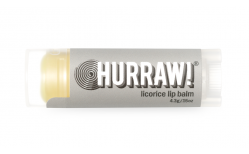 Hurraw lip balm Licorice 4.3 gr.