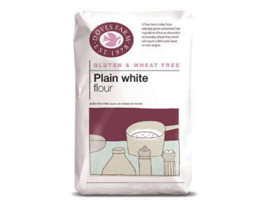 Doves Farm hvítt hveiti 1 kg. #glútenlaust