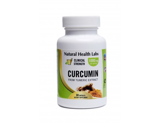 Natural Health Labs Curcumin 500mg 60 hylki