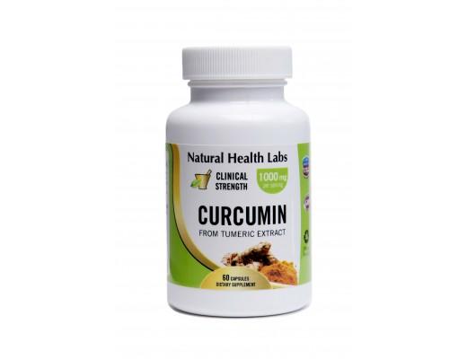 Natural Health Labs Curcumin 500mg 60 hylki