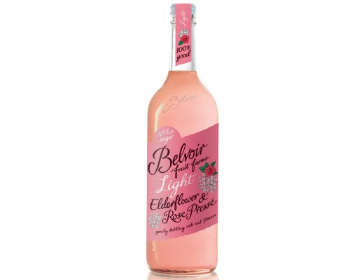 Belvoir Elderflower Rose light 750 ml.
