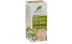 Dr. Organic Virgin Olive Oil fóta-og hælakrem 125 ml.