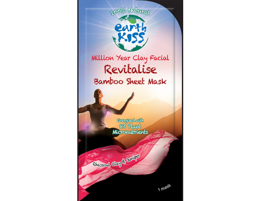 Earth kiss andlitsmaski-revitalise