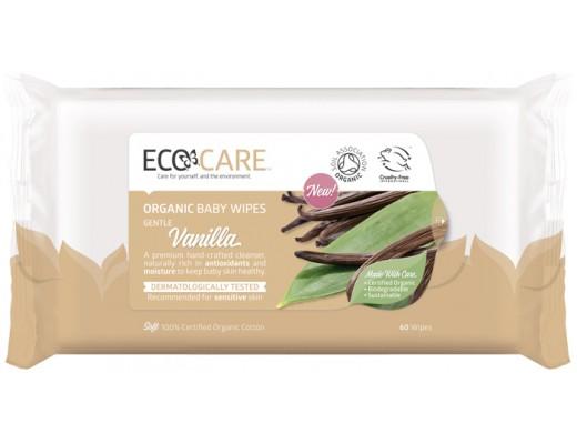 EcoCare blautklútar fyrir börn 60 stk.