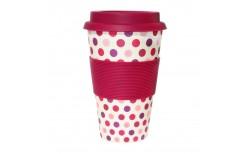 Ecoffee Pink Polka