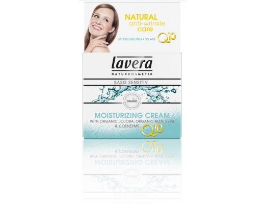 Lavera Q10 moisturizing andlitskrem Basis 50 ml.
