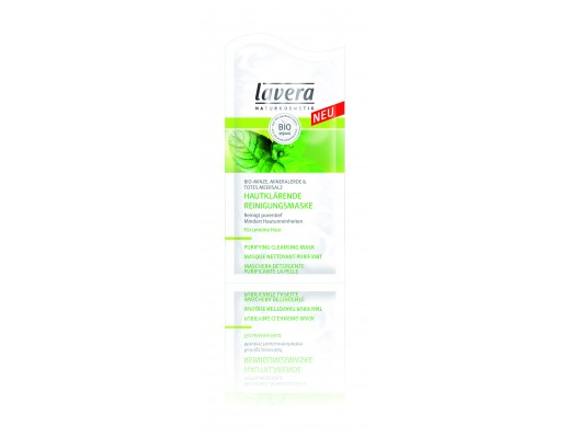 Lavera Purifying Mint cleansing mask 10 ml.
