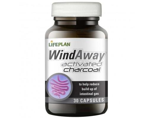 Lifeplan WindAway activated charcoal 30 hylki