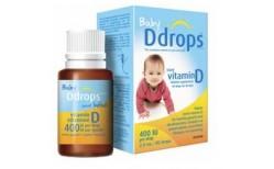 Baby Ddrops 400iu 60 dropar
