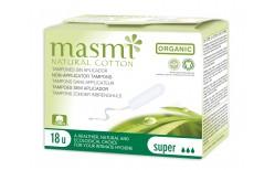 Masmi Organic Super túrtappar 18 stk.