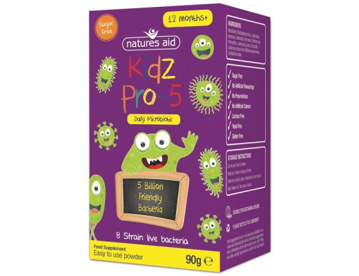 Natures Aid Kidz Pro-5 meltingargerlar