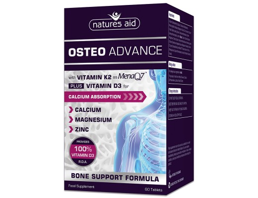 Natures Aid Osteo Advance 60 stk.