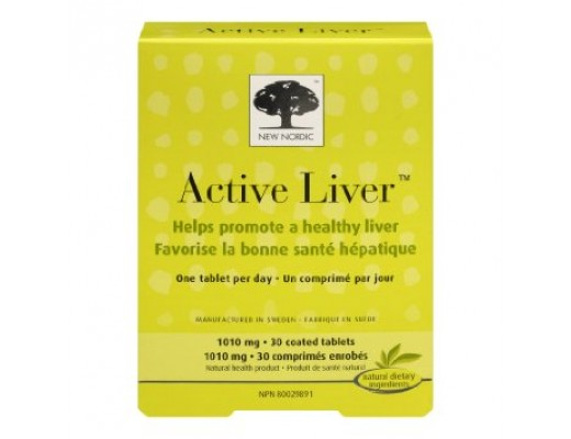 New Nordic Active liver 30 hylki