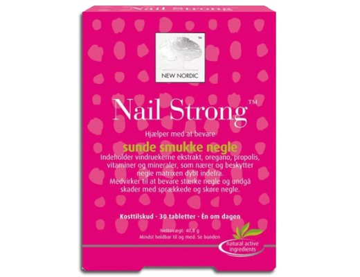 New Nordic Nail Strong 30 töflur