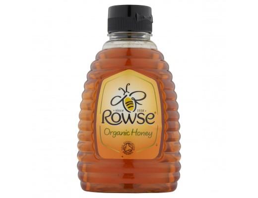 Rowse lífrænt hunang Easy squeezy 340 gr.